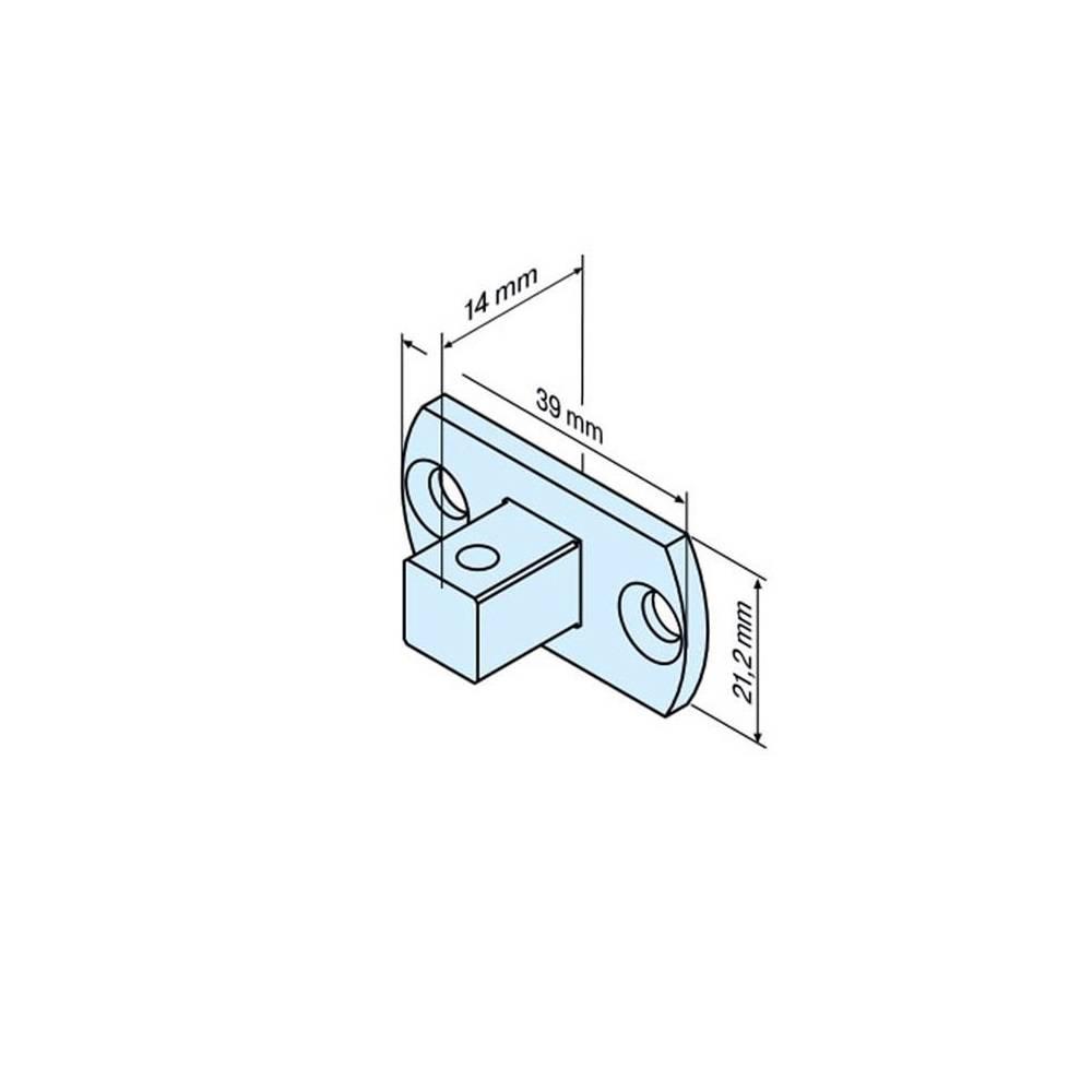 Becker Aansluitelement motornok - P serie motoren