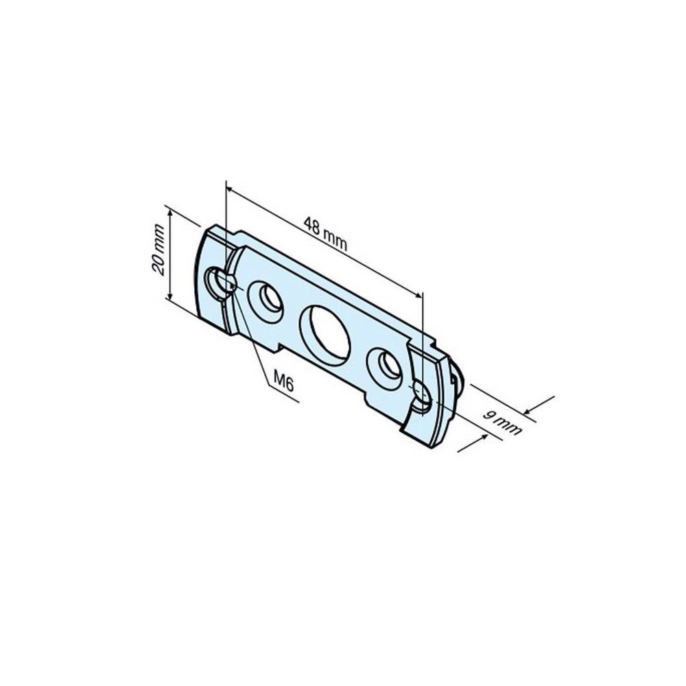 Becker Aansluitelement Mini-lip R C-Plug - R serie motoren