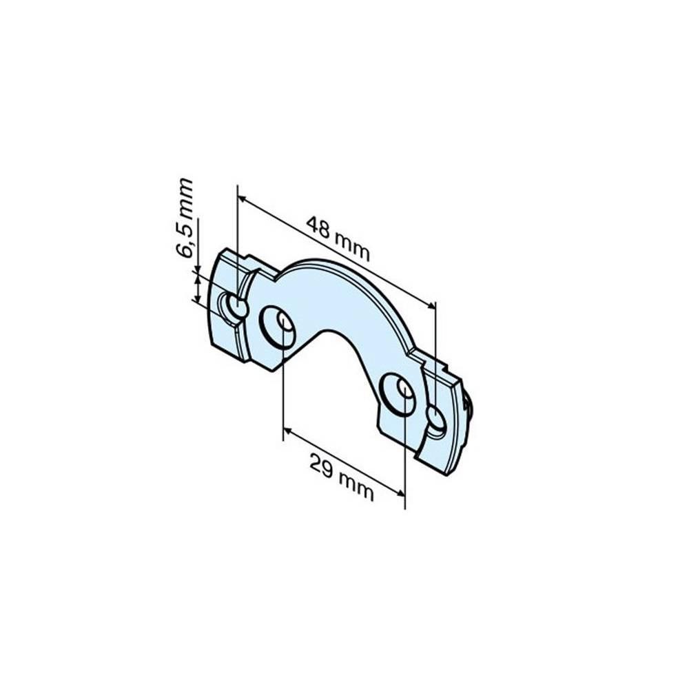 Becker Aansluitelement Mini-lip P C-Plug - P5-P13 motor