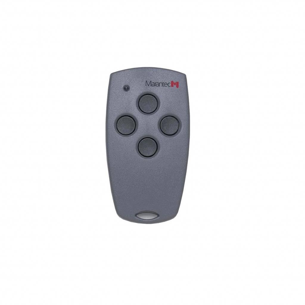 Marantec Digital 304 - 4 kanaals handzender - 433 MHz met Multi-bit codering