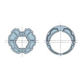 Huismerk Adaptieset  uitvalscherm Ø 63 mm doekgleuf