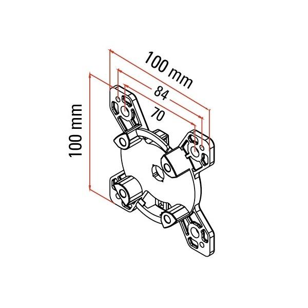 Faac Motorsteun TM2 45 - directe muurmontage