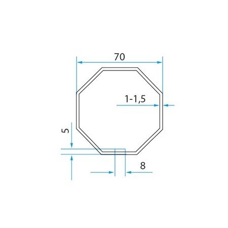 Faac Adaptieset 8 kant 70 - TM2 58