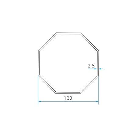 Faac Adaptieset 8 kant 102 - TM2 58