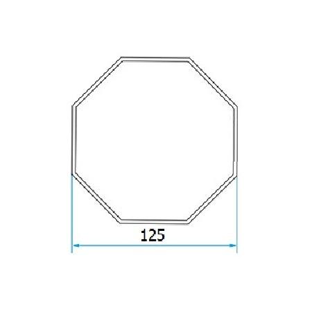 Faac Adaptieset 8 kant 125 - TM2 58