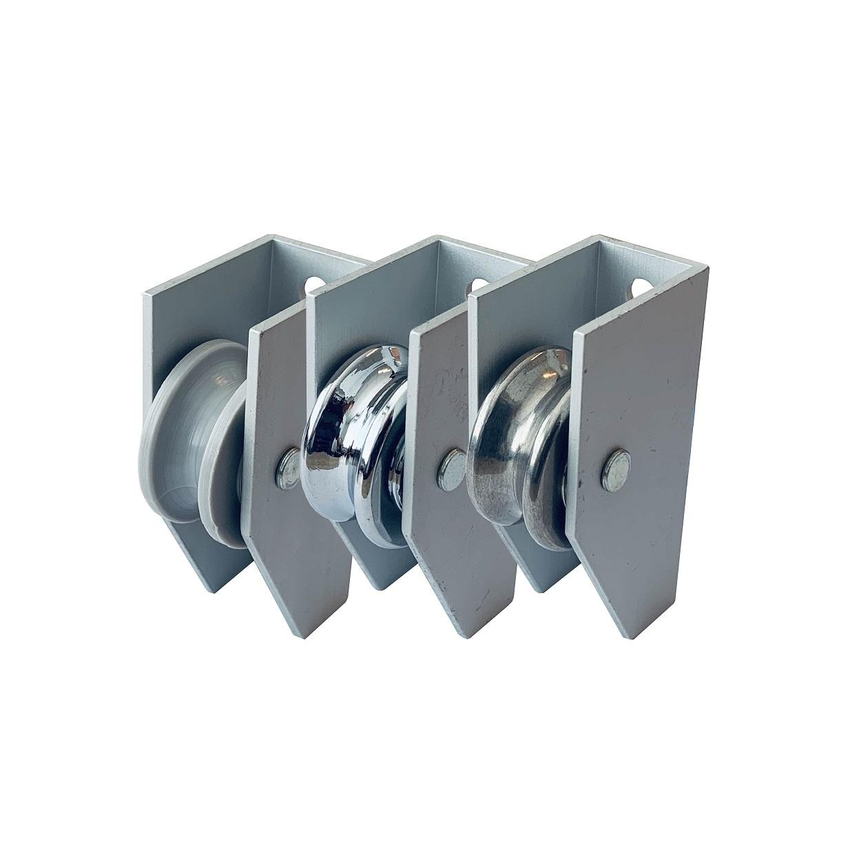 Aluminium staaldraadgeleider