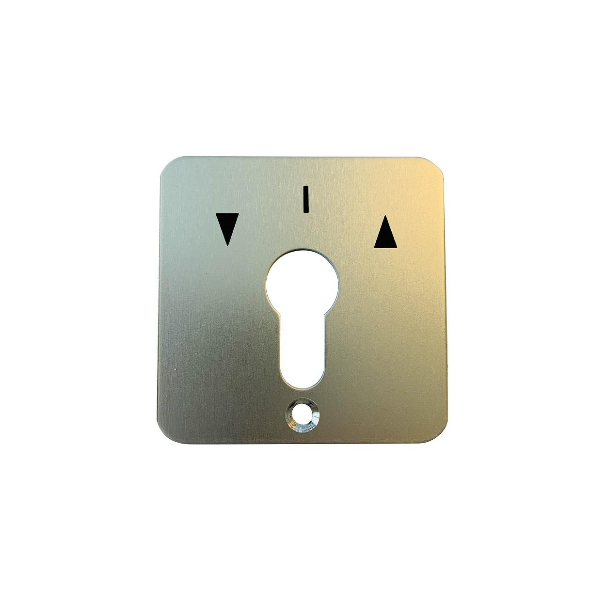 Geba sleutelschakelaar type S frontplaat