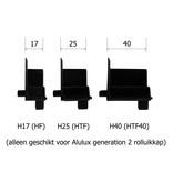 Alulux Inlooptrechter H17, H25 en H40 geleiders