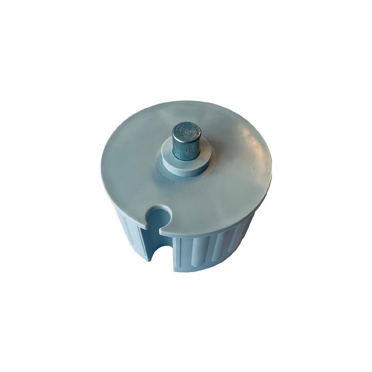 Kunststof asprop Ø 78 mm met ronde aspen
