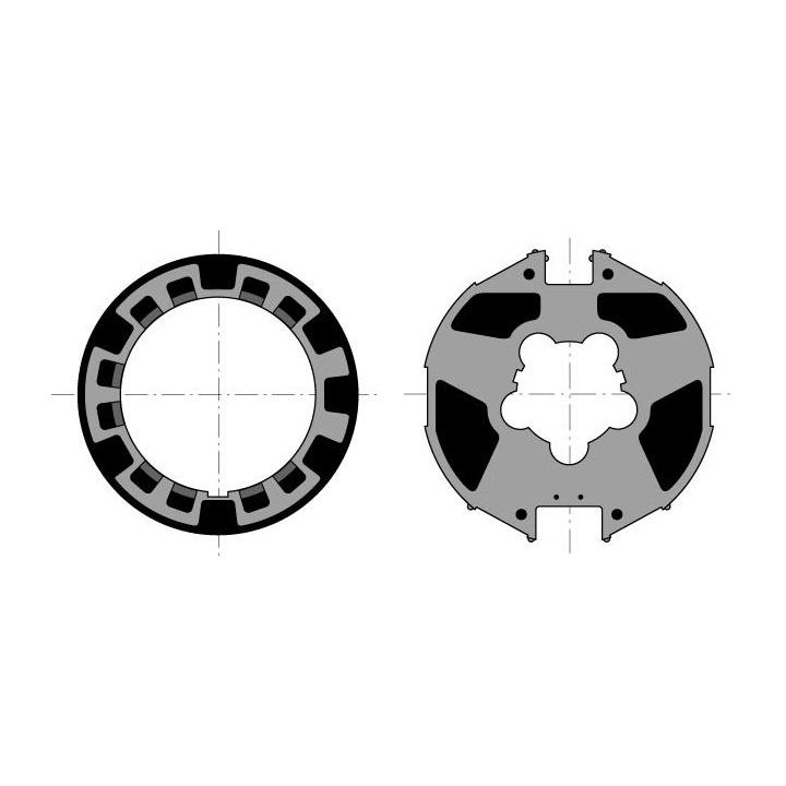 Somfy Adaptieset Ø 85 mm met doekgleuf - LT60 en T6