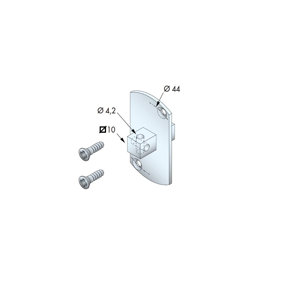 Somfy Motornok tbv T5 motoren t/m 25 Nm