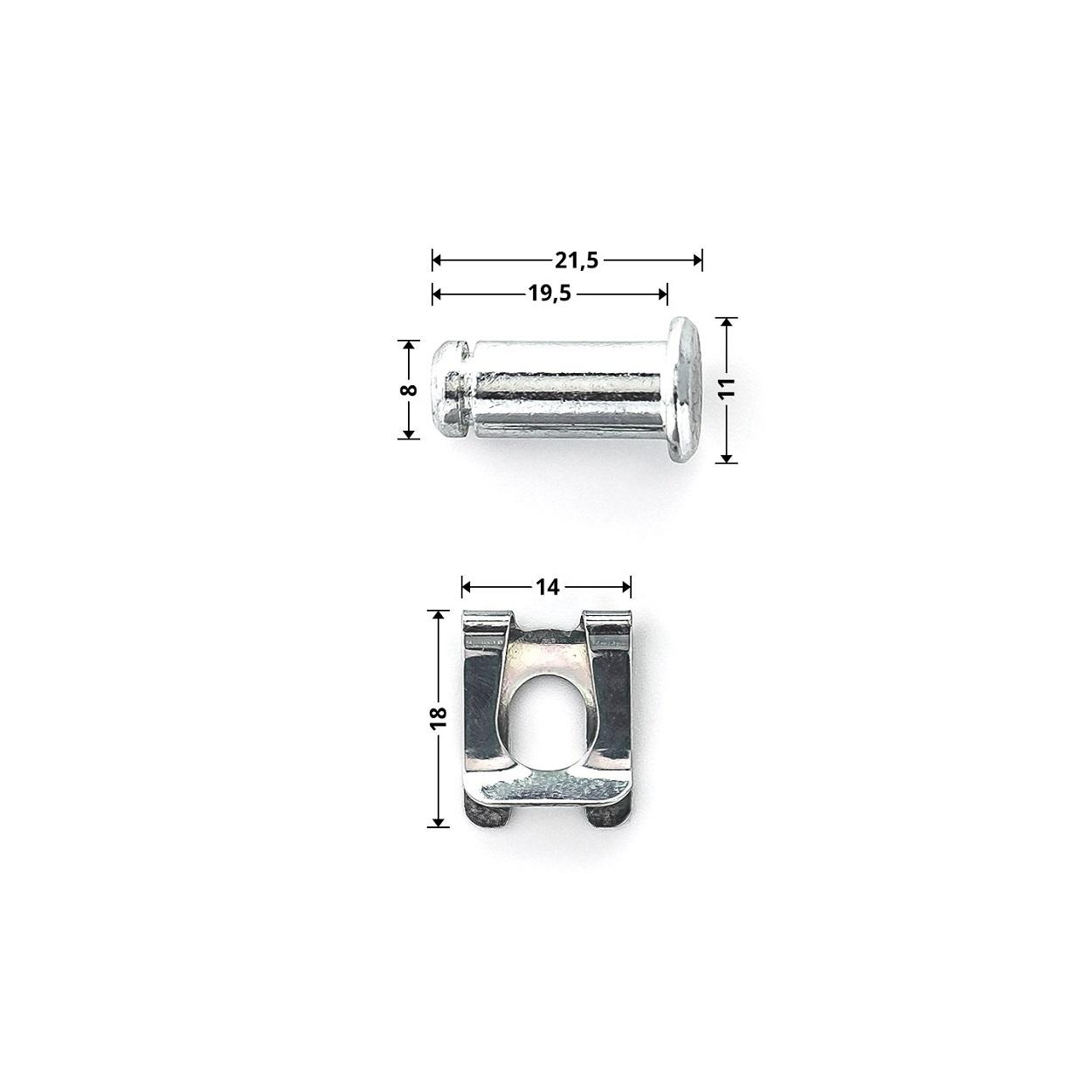Hormann Borgpen met SL-Clip 8 mm