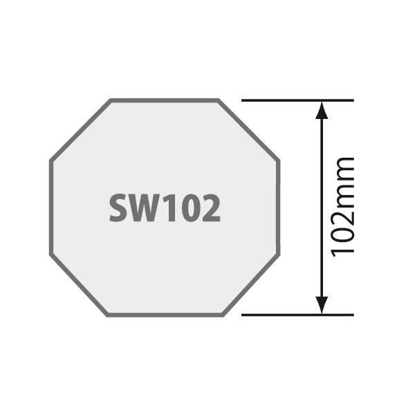 Simu Adaptieset 8 kant 102 - Simu T8