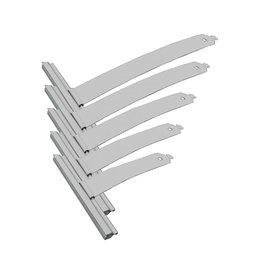 Selve Ophangveer rolluik, lengte 123 t/m 198 mm, mini-E profiel