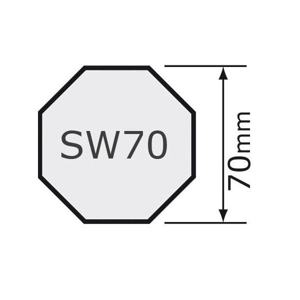 Selve Schuiflager - lagerprop verstelbaar 8k70