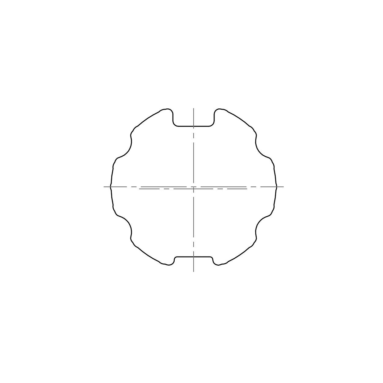 Elero Adaptieset Ø 63 mm met doekgleuf