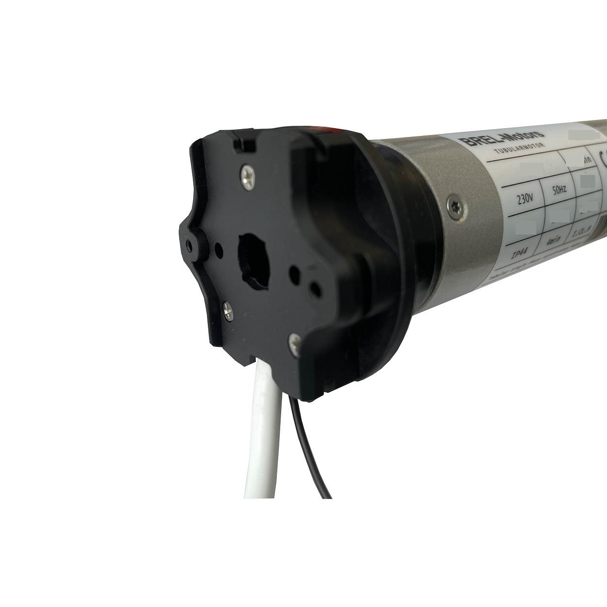 Brel BR45 buismotor met bi-directionele ontvanger en mechanische afstelling