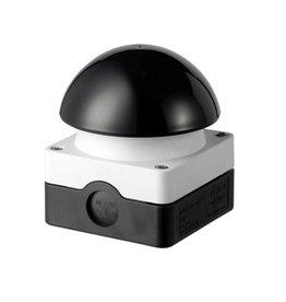 Eaton Industries Slagdrukknop (paddestoel) zwart - IP65