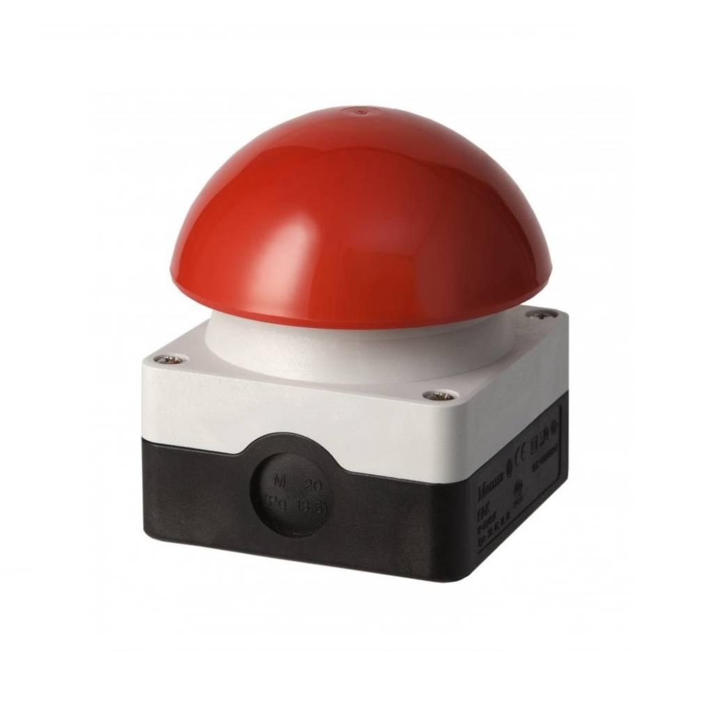 Eaton Industries Slagdrukknop (paddestoel) rood - IP65