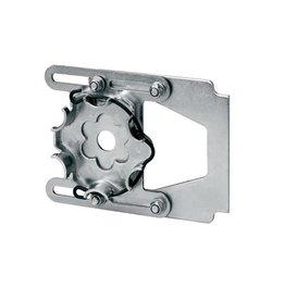 Elero Motorsteun blinde beugel 110 tot 165 mm voor Elero Starhead buismotoren