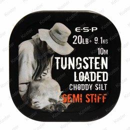 ESP Tungsten Loaded Hooklink 20LB Silt