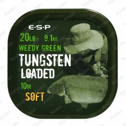 ESP Tungsten Loaded Hooklink 20LB Weed