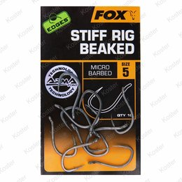 FOX EDGES Stiff Rig Beaked Hooks