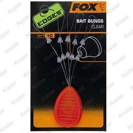 FOX EDGES Bait Bungs Clear