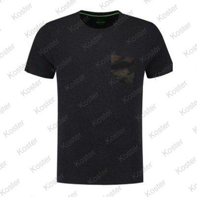 Korda Faux Pocket Tee Charcoal Shirt
