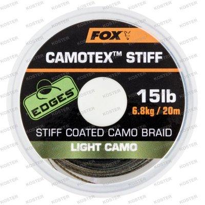 FOX EDGES Camotex Stiff Dark Camo