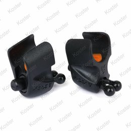 FOX Black Label - Adjustable Rod Clips 2x