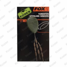 FOX EDGES Tungsten Hooklink Sinkers