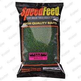 Spro SpeedFeed Pellets Green Betaine
