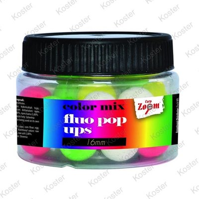 Carp Zoom Fluo Pop Ups - Colour Mix