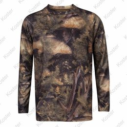 Kostra Fishouflage T-Shirt Long Sleeve Carp