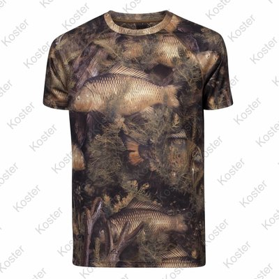 Kostra Fishouflage T-Shirt Carp
