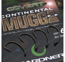 Covert Continental-Mugga Hooks Barbed