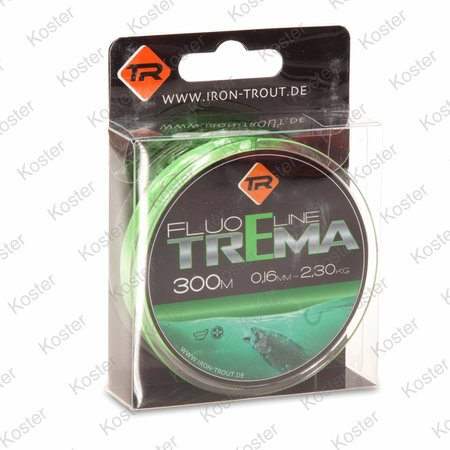 Iron Trout Trema Fluo Line Green