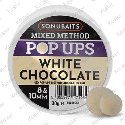 Sonubaits Mixed Method Pop Ups - White Chocolade