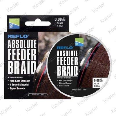 Preston Absolute Feeder Braid 150M