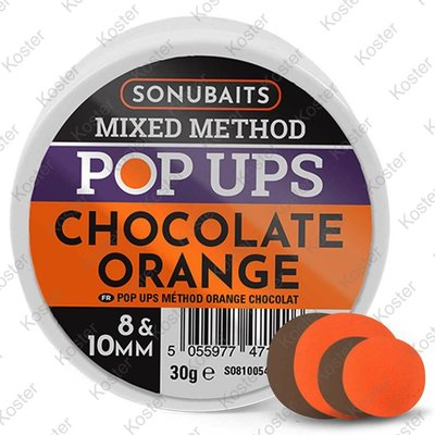 Sonubaits Mixed Method Pop-Ups Chocolate Orange