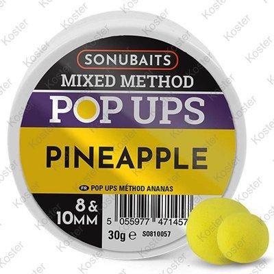 Sonubaits Mixed Method Pop-Ups Pineapple