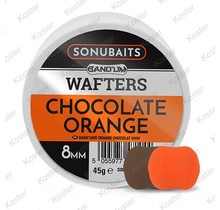 8mm Band'um Wafters Chocolate Orange
