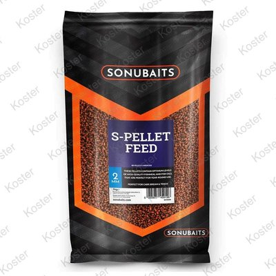 Sonubaits S-Pellet Feed 2 mm