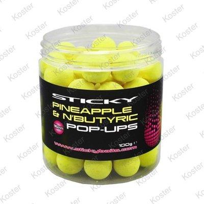 Sticky Baits Pineapple & N'Butyric Pop-Ups