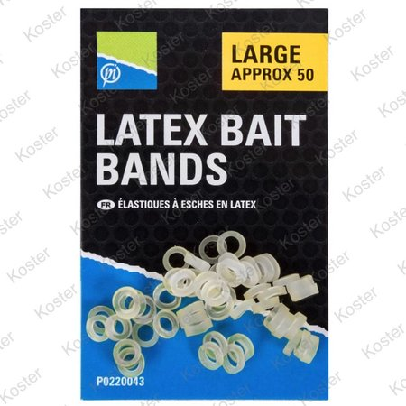 Preston Latex Bait Bands