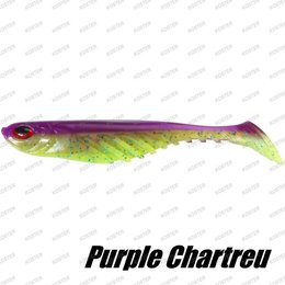 Berkley PowerBait Ripple Shad Purple Chartreuse