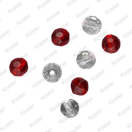 Spro Faceted Glass Beads 6mm