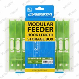 Cresta Hooklength Box Feeder 15x10cm.