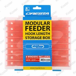 Cresta Hooklength Box Feeder 20x20cm.